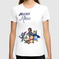 allison argent T-shirts featuring PokeWolf: Allison Argent by Trickwolves