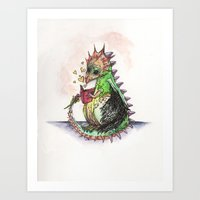 Tales for tails Art Print