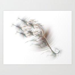 Synaptic Cleff Art Print