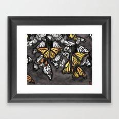 The Monarch Framed Art Print