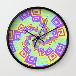 In A Twist Wall Clock