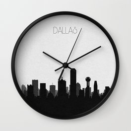 City Skylines: Dallas Wall Clock