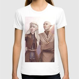 Dragon Age - Finding Skyhold - Solas and Inquisitor T-shirt