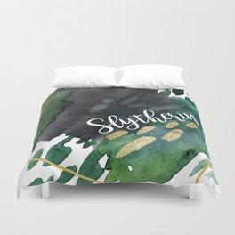 Slytherin Green Duvet Cover
