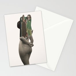 She is unpredictable and handful to drive. Stationery Cards