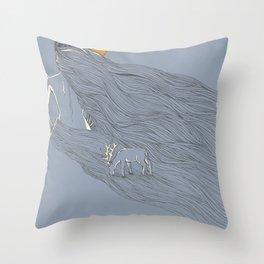 Howl River Throw Pillow
