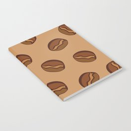 Pattern - Coffee Beans Notebook