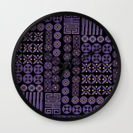 The Magical Ultra violet Wall Clock