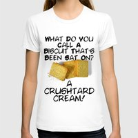pun T-shirts featuring Crushtard Cream Pun by georgestow
