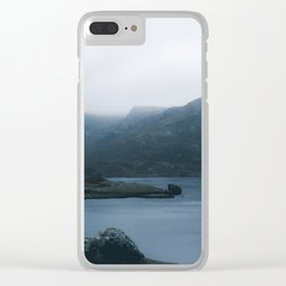 Easedale Lake District Clear iPhone Case
