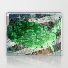 usa map urban city collage Laptop & iPad Skin