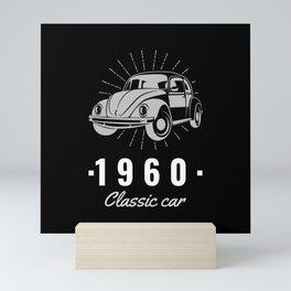 Beetle Classic Car Since 1960 Mini Art Print
