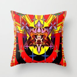Chi Chief Throw Pillow