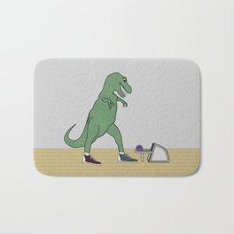 The T-Rex Bowls Bath Mat