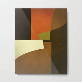 Abstract, Minimal, Minimalist, Geometry, Geometric, Modern Minimalist, Metal Print