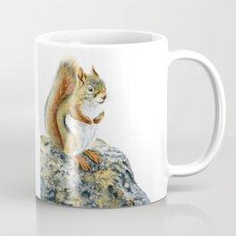 Bright-eyed and Bushy-tailed by Teresa Thompson Coffee Mug