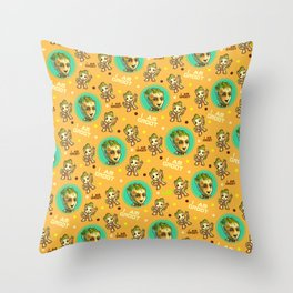 Guardians of the Galaxy Baby pattern Throw Pillow
