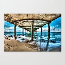 Makai Pier Canvas Print