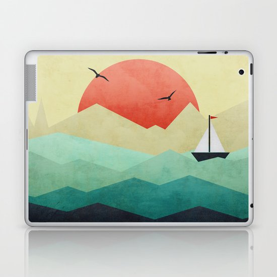 Ocean Adventure Laptop & iPad Skin