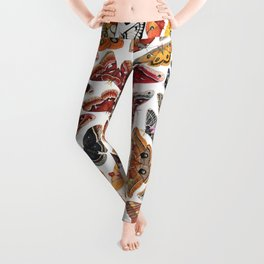 Saturniid Moths of North America Pattern Leggings