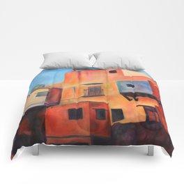 Guanajuato 01 Comforters