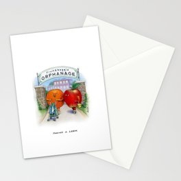 Taking a Leek Stationery Cards