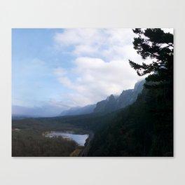 Horsetail Falls Cliff Canvas Print