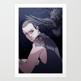 creature (Ronan Lynch) Art Print