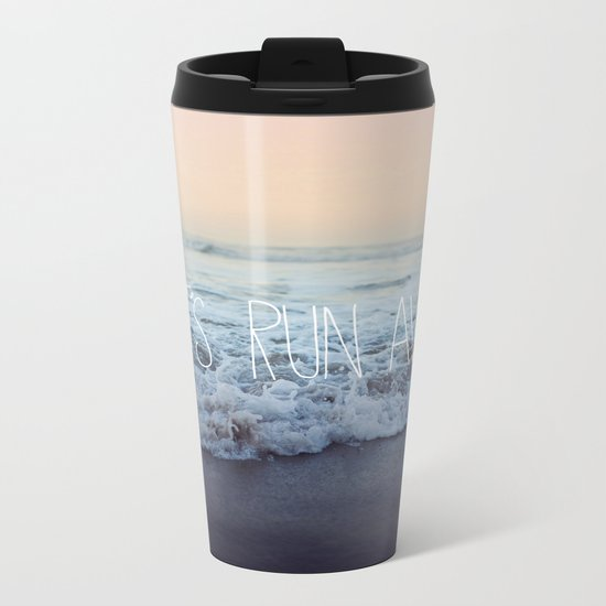Let's Run Away x Arcadia Beach Metal Travel Mug