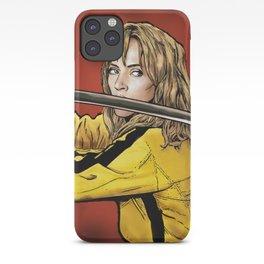 Tarantino Kill Bill -  Kiddo The Bride iPhone Case