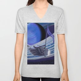 Through Space and Sound Unisex V-Neck