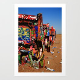 Route 66 - Roadside Attraction 2012 Art Print