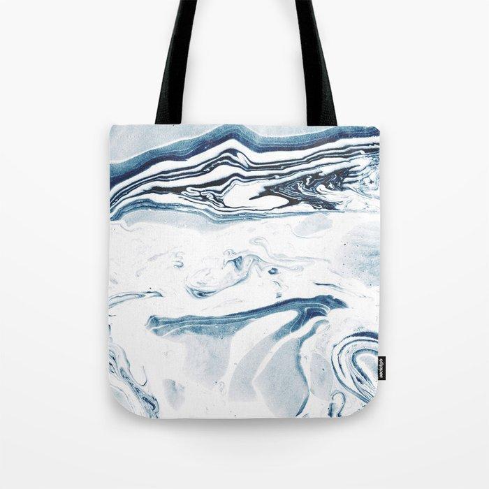Marble fade Tote Bag