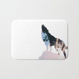 Wolf. Bath Mat