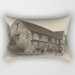 Masonic Lodge Bradford on Avon Rectangular Pillow