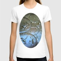 jewish T-shirts featuring Voir le beau verre  by Brown Eyed Lady