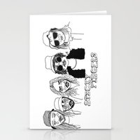 cactei Stationery Cards featuring Sticky Fingers  by ☿ cactei ☿