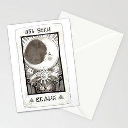 alpha beta gamma Stationery Cards