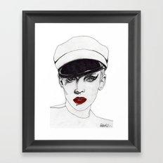 The Chauffeur Framed Art Print