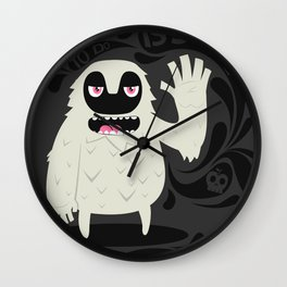 All you have to do is smile and say Hi! Wall Clock