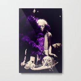 Vampire Flower (Edit 2) Metal Print
