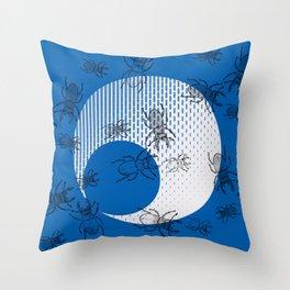 Stag Night. Throw Pillow