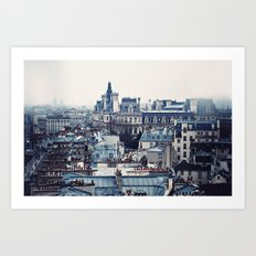 A Parisian View Art Print
