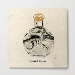 Bottled Demons Metal Print