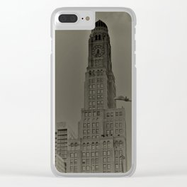Brooklyn Tower Clear iPhone Case