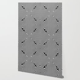 Checkered moire IV Wallpaper