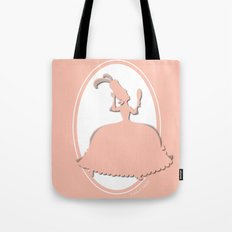 The Historical Fashion Plate Series: Rococo Fantasy Tote Bag
