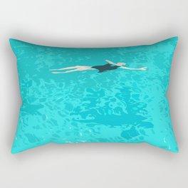 Ophelia Forgot Her Snorkel Again Rectangular Pillow