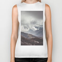 Waiting for the sun - Landscape and Nature Photography Biker Tank