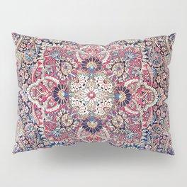 Kashan Central Persian Rug Print Pillow Sham